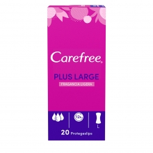 Carefree<sup>®</sup> Plus Large Fragancia Ligera
