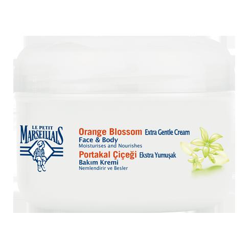Cremă pentru uz general hidratantă pentru faţă şi corp, cu flori de portocal
